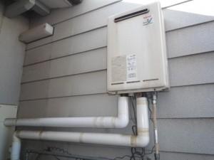 壁掛け式給湯専用ガス給湯器