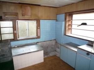 施工前 キッチン