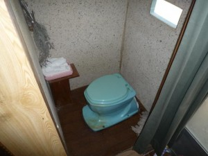 施工前 ポータブルトイレ
