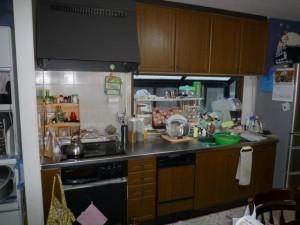 施工前 I型キッチン