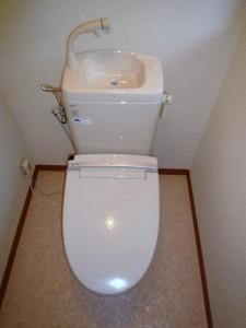 INAX  簡易水栓洋式トイレ