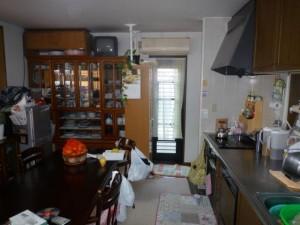 施工前 I型キッチン2700サイズ