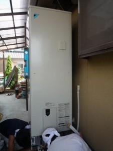 貯湯ユニット レベル 確認 給水・給湯・追い焚き配管 接続
