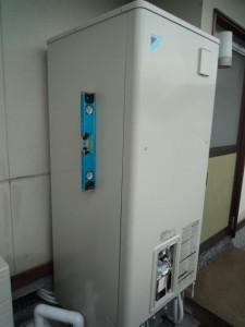 貯湯ユニット設置