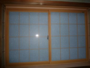インプラス+和紙調ガラス