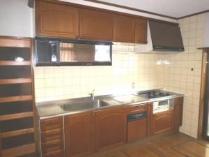 天然木扉 システムキッチン