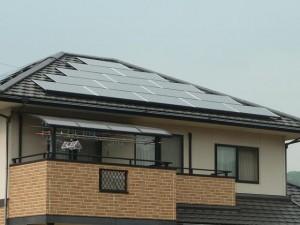太陽電池モジュール 南面15枚