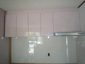 キッチンパネル 換気扇 吊り戸
