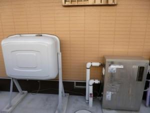 施工前 石油給湯機 給湯専用
