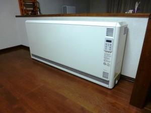 電気蓄熱暖房機 ユニデール ファン付マイコン内蔵 Vuei60J