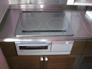 パナソニック(ナショナル)IH KZ-MDS32 1Fお台所ビルトインタイプ