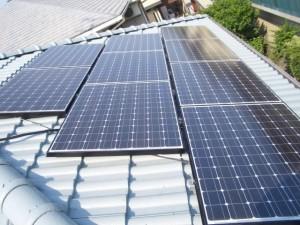 サンヨー太陽光発電システム 3Kw